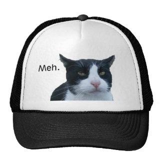 """""""Meh"""" cat Trucker Hat"""