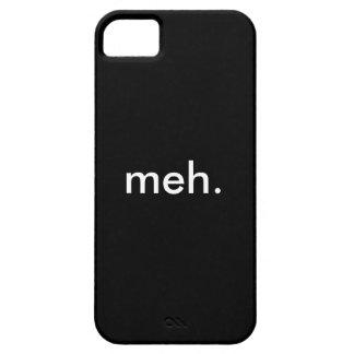 meh. Cubierta del teléfono iPhone 5 Fundas
