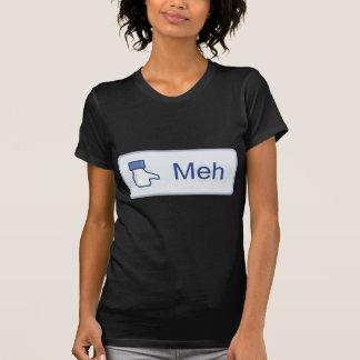 Meh - Facebook Camiseta