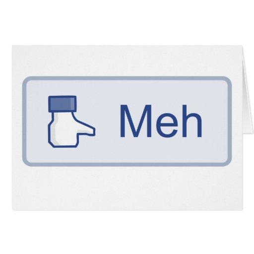 Meh - Facebook Card