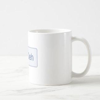 Meh - Facebook Coffee Mug