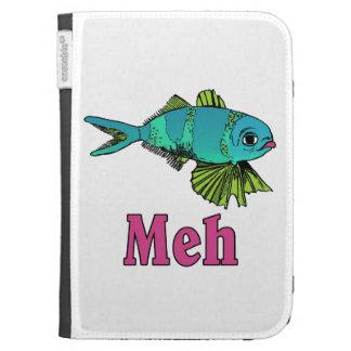 Meh-fish Kindle case