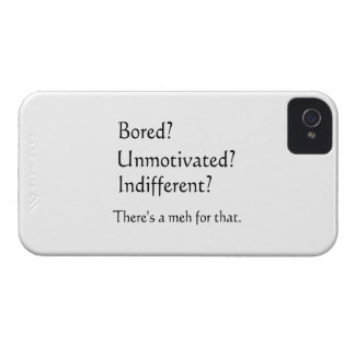 Meh for That - App for that Parody Case-Mate iPhone 4 Case