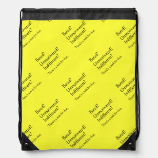 Meh for That - App for that Parody Drawstring Bag