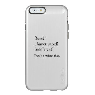 Meh for That - App for that Parody Incipio Feather® Shine iPhone 6 Case
