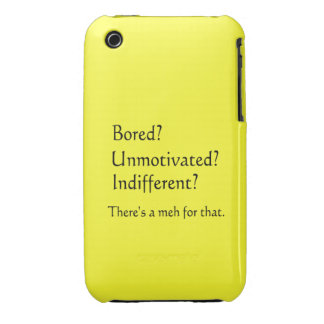 Meh for That - App for that Parody iPhone 3 Case