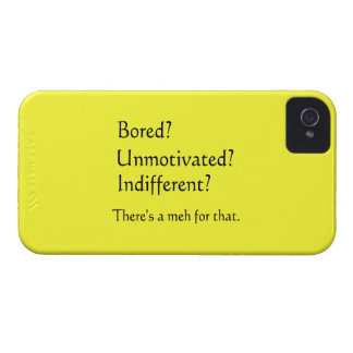 Meh for That - App for that Parody iPhone 4 Cover