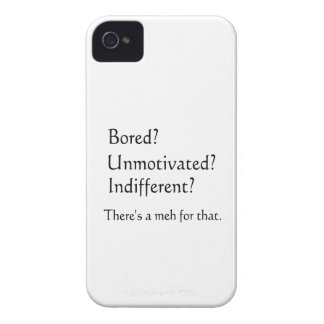 Meh for That - App for that Parody iPhone 4 Covers