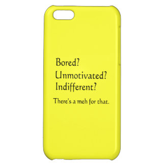 Meh for That - App for that Parody iPhone 5C Case
