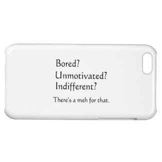 Meh for That - App for that Parody iPhone 5C Cover