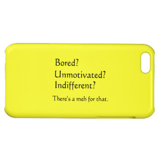 Meh for That - App for that Parody iPhone 5C Covers
