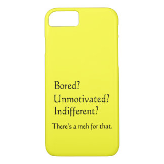 Meh for That - App for that Parody iPhone 7 Case