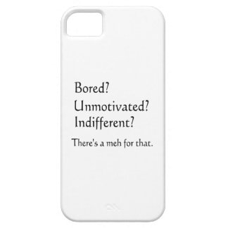 Meh for That - App for that Parody iPhone SE/5/5s Case