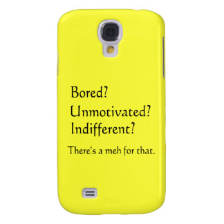 Meh for That - App for that Parody Samsung Galaxy S4 Cover