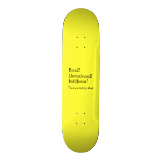 Meh for That - App for that Parody Skateboard Deck
