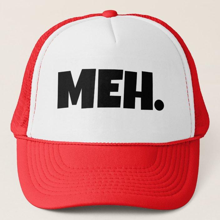 Trucker Cap Meh..