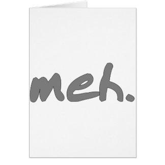 meh greeting cards