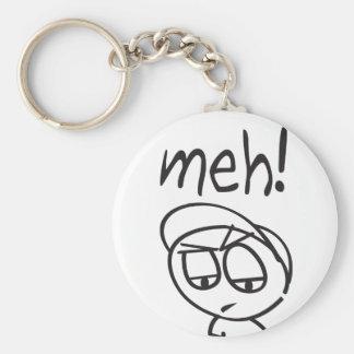 Meh! Keychain