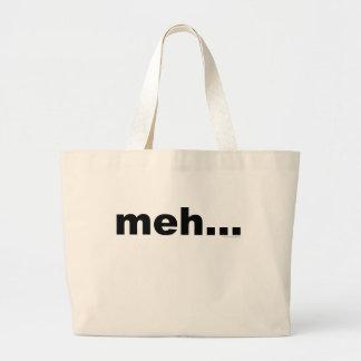 meh... large tote bag
