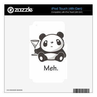 Meh Panda iPod Touch 4G Skins