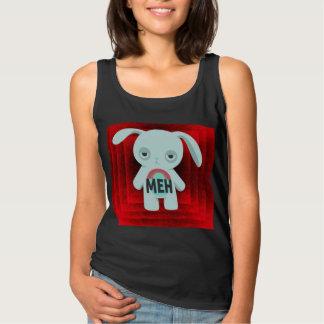 Meh Rabbit Red Background T-Shirt