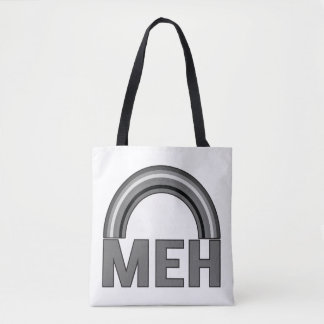 MEH Rainbow Tote Bag. Tell them how you feel.