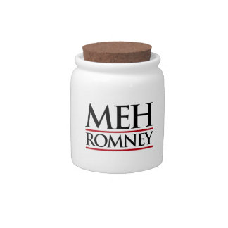 MEH ROMNEY CANDY JARS