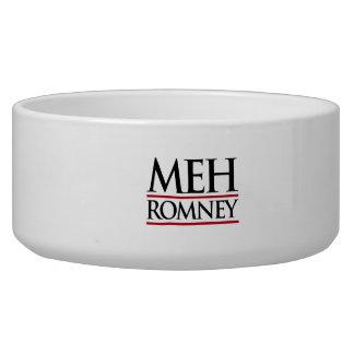 MEH ROMNEY -.png Dog Food Bowls