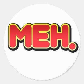 Meh Sticker