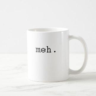 meh tazas de café