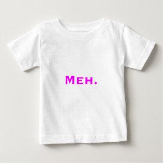 Meh. Yellow Green Pink Baby T-Shirt