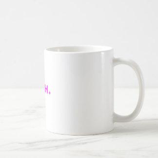 Meh. Yellow Green Pink Coffee Mug