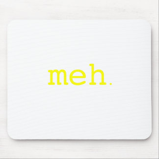 meh. Yellow Green Pink Mouse Pad