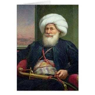 Mehemet Ali , 1840 Card