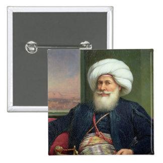 Mehemet Ali, 1840 Pin Cuadrado