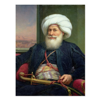 Mehemet Ali , 1840 Postcard