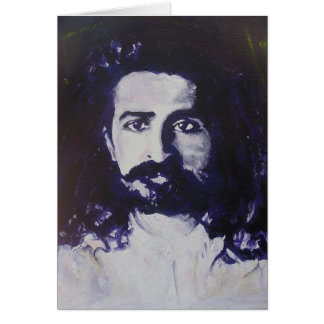 Meher Baba Card (blank message)