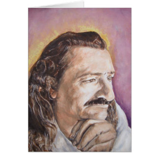 Meher Baba, from a favorite photo of His Stationery Note Card