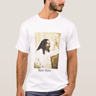"""Meher Baba """"Happy Trails"""" T-Shirt"""