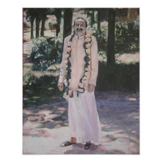 Meher Baba in Myrtle Beach Poster