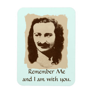 Meher Baba Remember Me Magnet