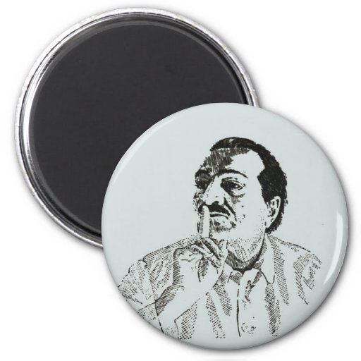 Meher Baba Silence  Magnet Refrigerator Magnet