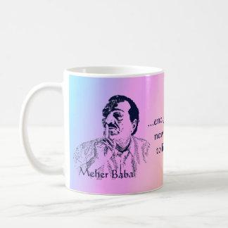 Meher Baba Silence Rainbow Mug