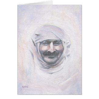 Meher Baba with turban Greeting Card