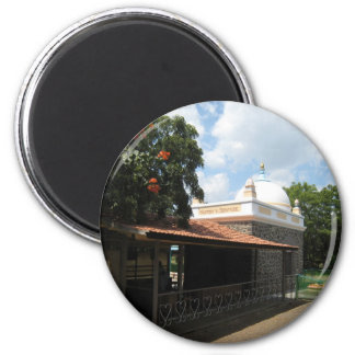 Meher Baba's Tomb 2 Inch Round Magnet