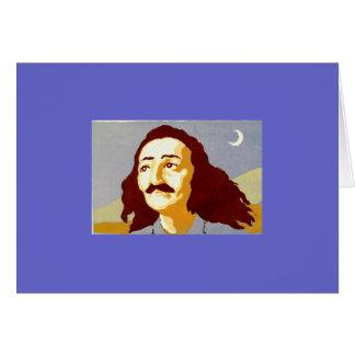 Meher Moon Greeting Card