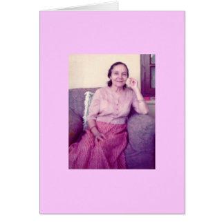 Mehera, 1976 greeting card