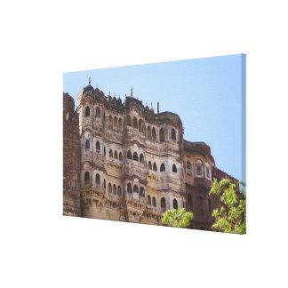 Meherangarh, the Majestic Fort, Jodhpur, Canvas Prints