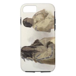 Mehkskeme-Sukahs, Blackfoot Chief and Tatsicki-Sto iPhone 8/7 Case