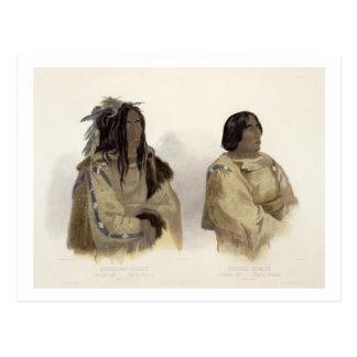 Mehkskeme-Sukahs, Blackfoot Chief and Tatsicki-Sto Postcard